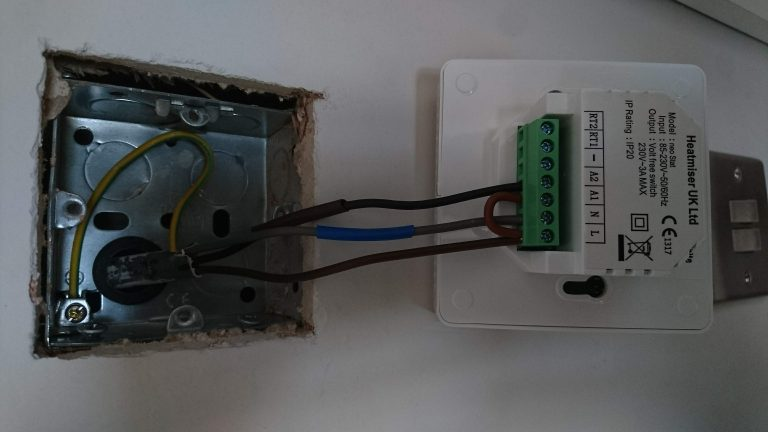 Central Heating Thermostat Installed Essex