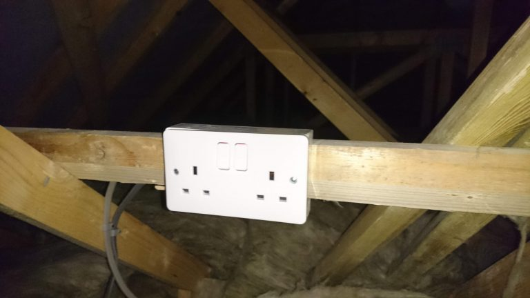 Loft Sockets Installed Essex