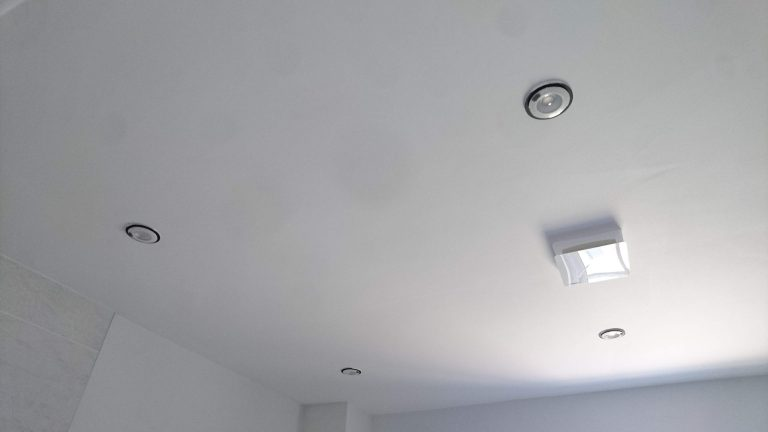 LED Spot Lights and Extractor Fan Installed Essex