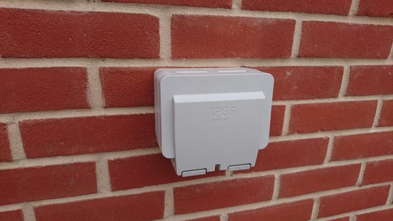 Outdoor sockets Installed Essex