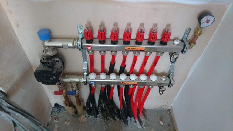Underfloor heating controls Essex