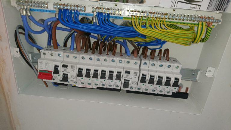 New Consumer unit installation Colchester